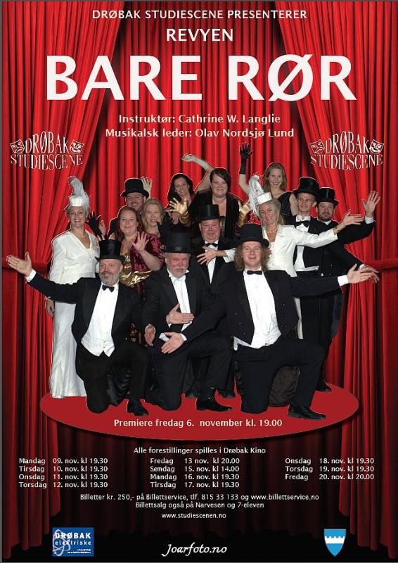 Plakat Bare Rør 2015