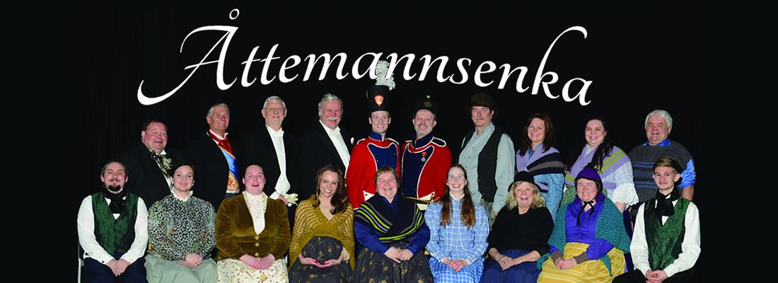 Åttemannsenka – mai 2017